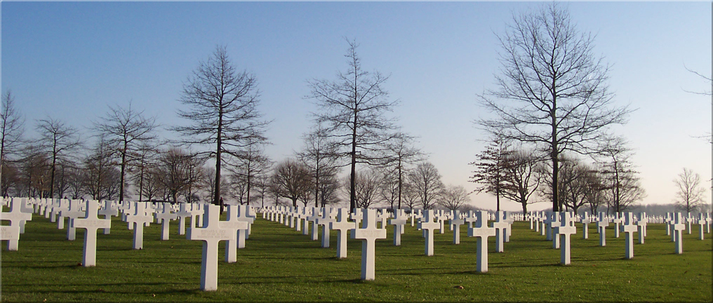 Netherlands American Cemetery and Memorial Margraten January 2006